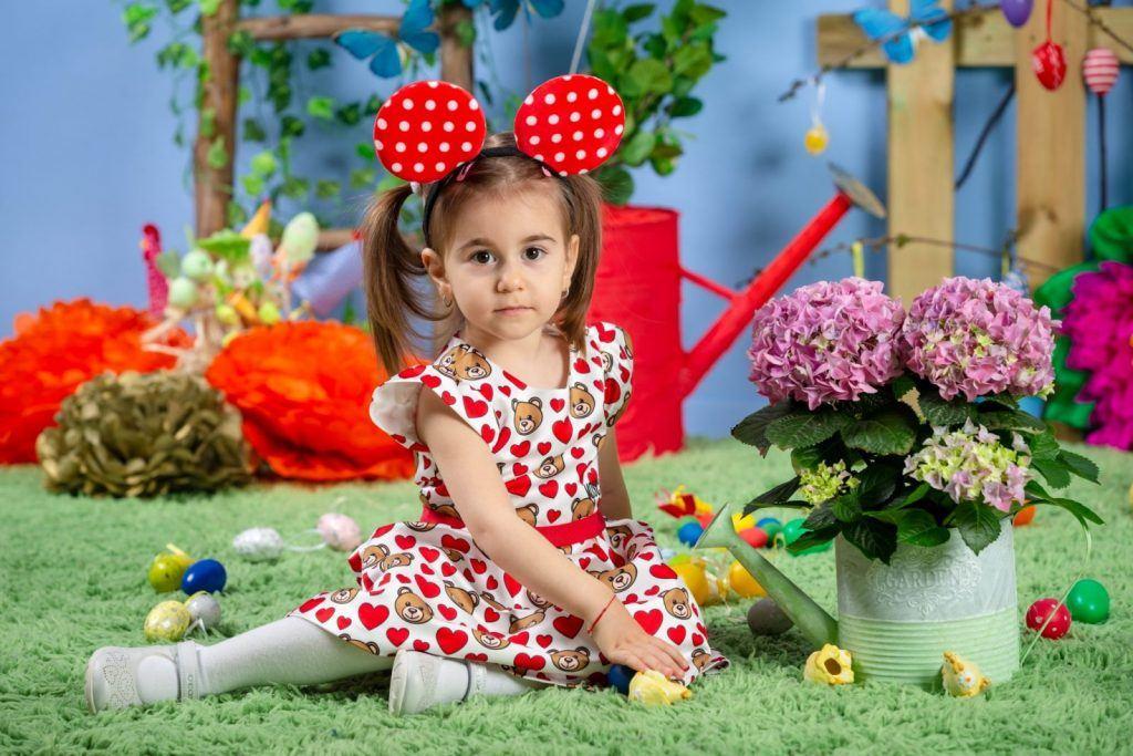 fotografii copii de paste